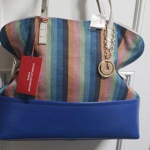 Charles Jourdan Paris Handbag NWT